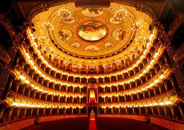Teatro Massimo Bellini - interna