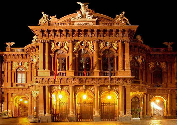 Vincenzo Bellini Theater - External