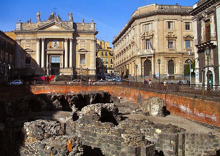 Roman Theater of Catania